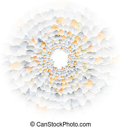 Vector nano texture color web abstract line circle