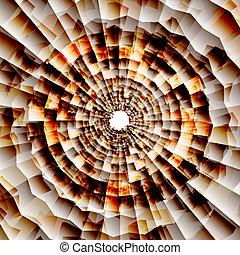 Vector nano texture color