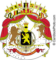 Vector national coat of arms of Bel