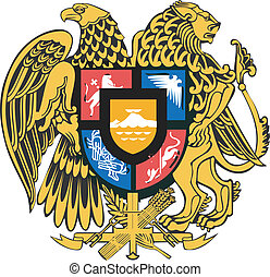 Vector national coat of arms of Mol