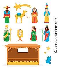 Vector Nativity Collection