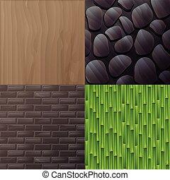 Vector natural texture