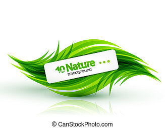 Vector nature abstract background - Nature abstract vector ...