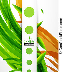 Vector nature abstract background