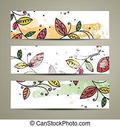 Vector Nature Banners