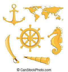 Vector Nautical Elements