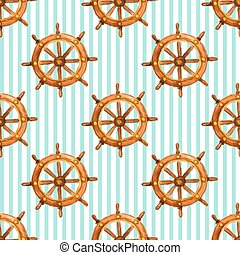 Vector nautical pattern