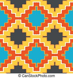 Vector navajo tribal ornament