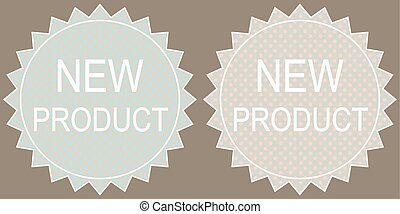 Vector New product Tag, Label