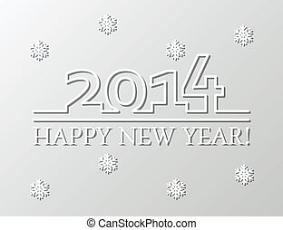 vector new year 2014 background