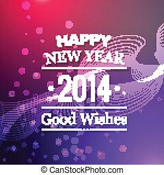vector new year design