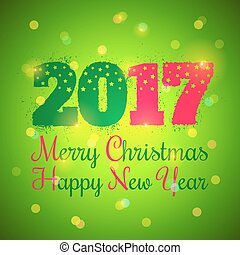 Christmas and New year 2017