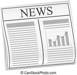 Vector newspaper - Abstract newspaper, vector eps10...