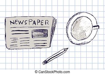 newspapers - vector newspapers