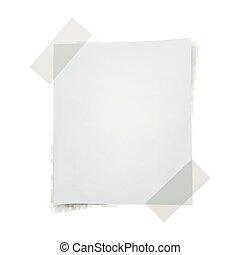 Vector Note Paper