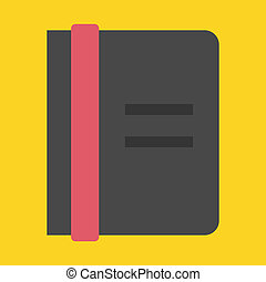 Vector Notebook Icon