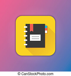 Vector Notepad Icon