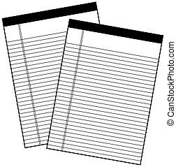 Vector notes sheets