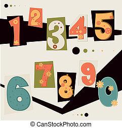 vector number