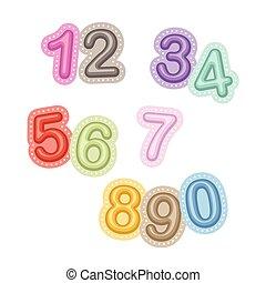 Vector Numbers