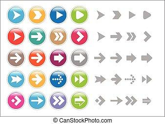Vector Object - Arrow icons