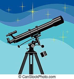 Vector observing telescope.