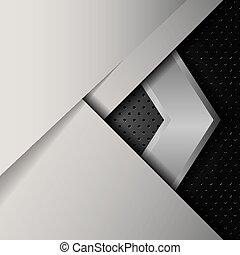 Vector of abstract metallic background .