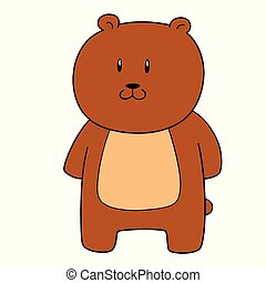 vector of bear