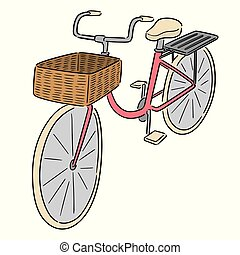 vector of bicycle
