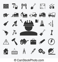 Vector of Big set Business icon Ill