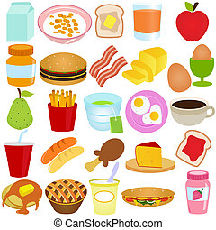 Vector of Breakfast / Lunch set