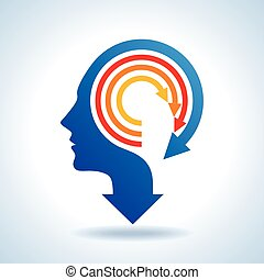 vector of business mind