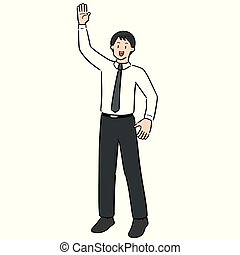 vector of businessman