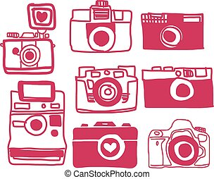 Vector of Camera Freehand