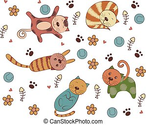 Vector of Cat Style