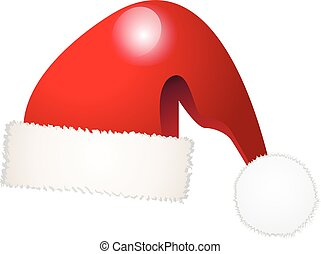 Vector of christmas hat