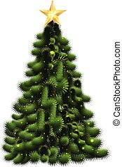 Vector of Christmas tree