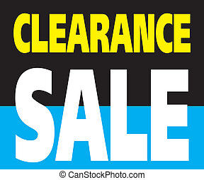 Clearance Sale Promotion Label - Vector of Clearance Sale...