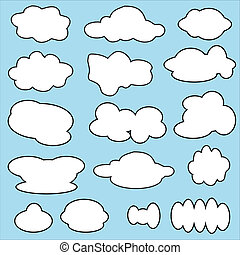 Vector of Clouds