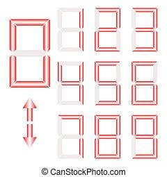 vector of Digital number