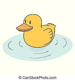 vector of duck