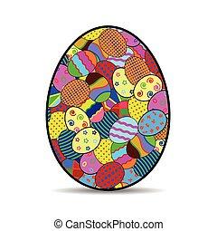 vector of Easter egg