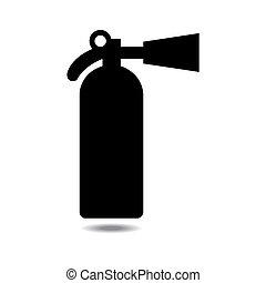 vector of extinguisher icon