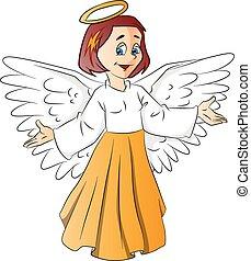 Vector of fairy girl.