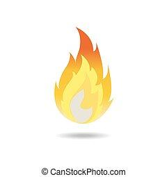 vector of fire