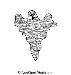 Vector of ghost Halloween