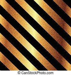 Vector of gold background with black stripes