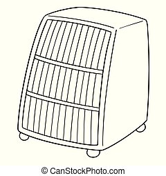 vector of heater