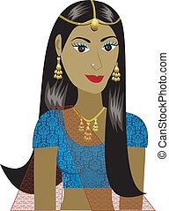 Indian Girl Avatar