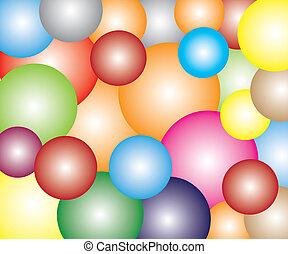 Light Colorful ball Celebration